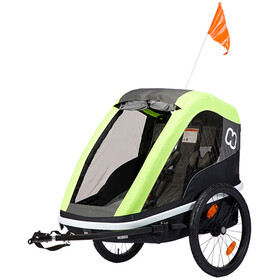 Hamax Avenida Bike Trailer green/black